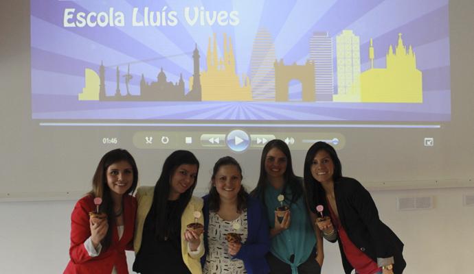 Alumnas de EAE Business School promueven la iniciativa Barcelona Positiva