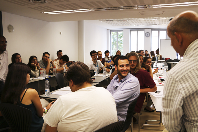 Curso residencial alumnos ISCTE en EAE Barcelona