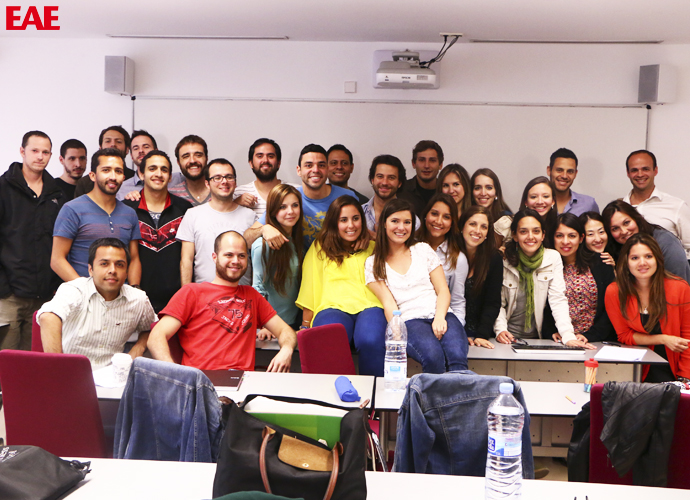 International MBA students from EAE Business School Barcelona