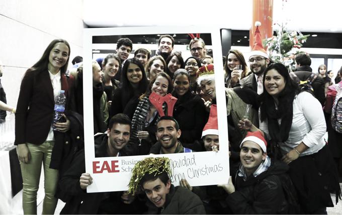 Brindis Navideño en EAE Business School