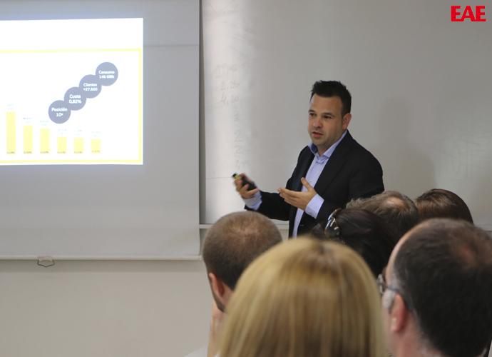 Café y CEO con José Barrios en EAE Business School
