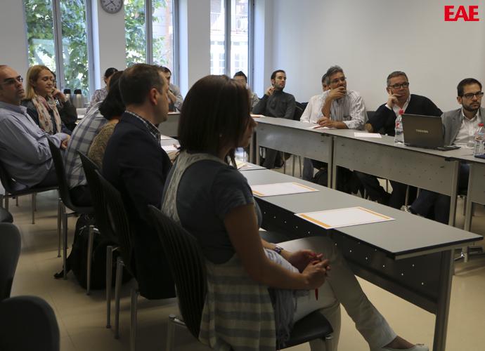 CEO de Audax Energía José Barrios en EAE Business School