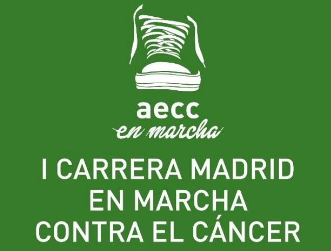 Carrera contra el Cancer en Madrid AECC