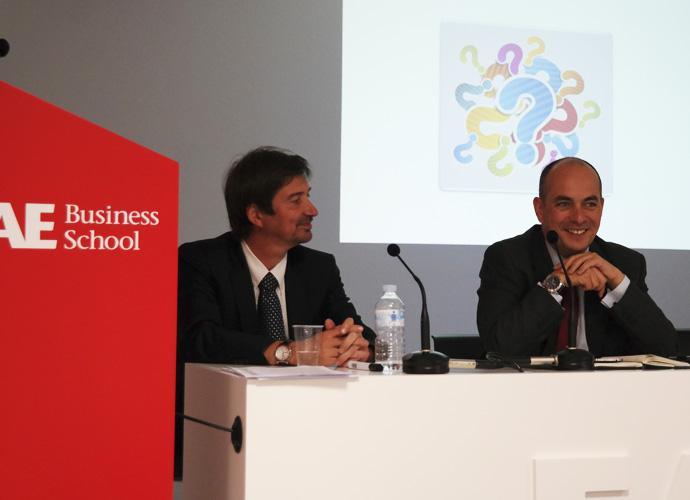 Conferencia Cultural Fit RRHH Koenraad Goris en EAE Business School
