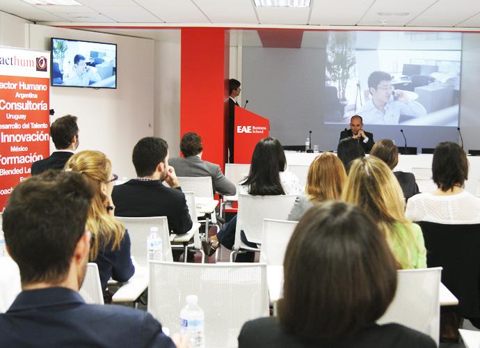 Conferencia Cultural Fit RRHH Koenraad Goris Cubiks en EAE Business School