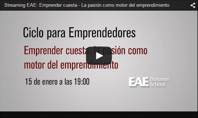 Accede a la primera sesión online de Emprendedores EAE
