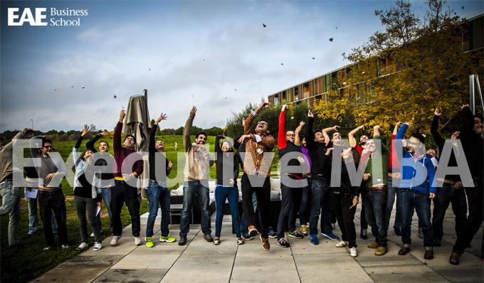 Foto de grupo Programa Residencial del Executive MBA de EAE Business School