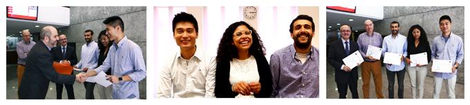 Ganadores El Reto 2014 alumnos Grado en ADE de EAE Business School
