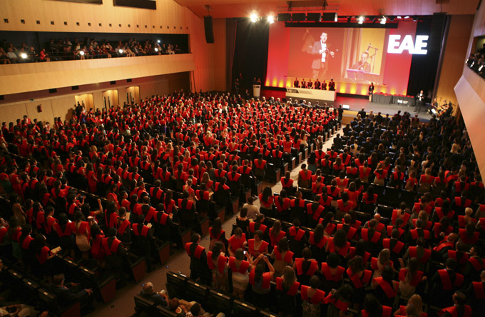 Ceremonia de Graduación del Campus de Barcelona