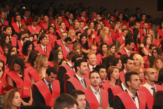 Imagen de la Ceremonia de Graduación Barcelona 2014