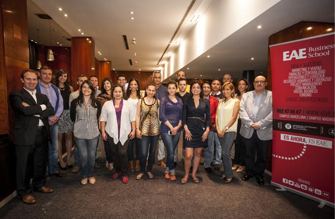 Nuevos alumnos Global Executive MBA Madrid EAE