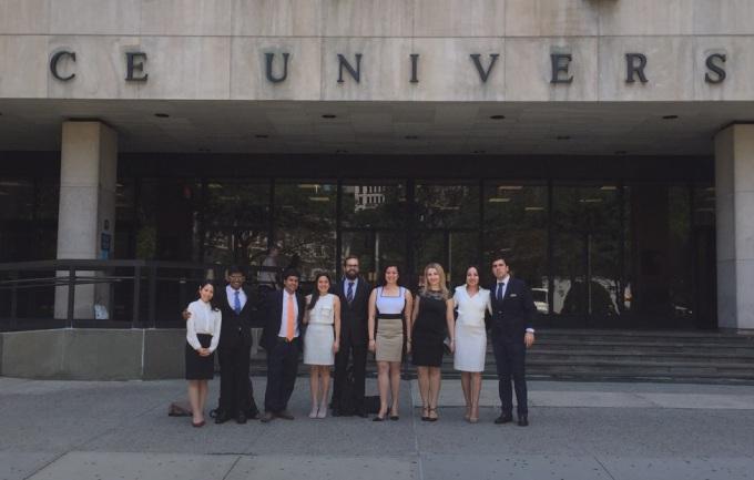 Alumnos del IMBA en Nueva York