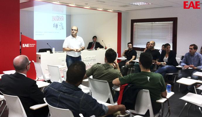 Jesus Rebollo, CEO de Just EAT, en EAE Business School Café y CEO