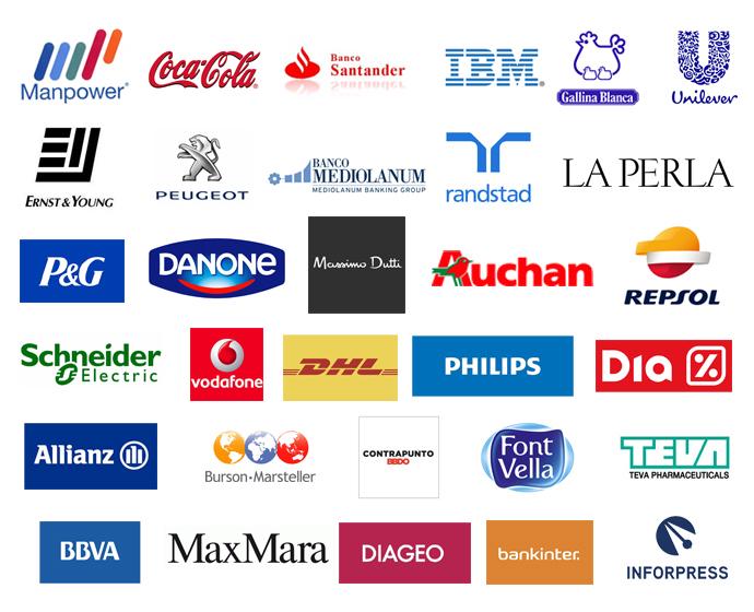 Empresas con las que colabora EAE Business School