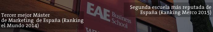 Master en Dirección de Marketing de EAE Business School