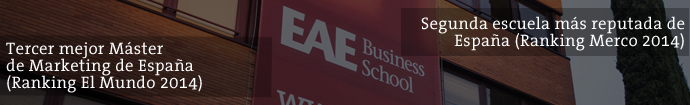 Master en Dirección de Marketing de EAE Business School