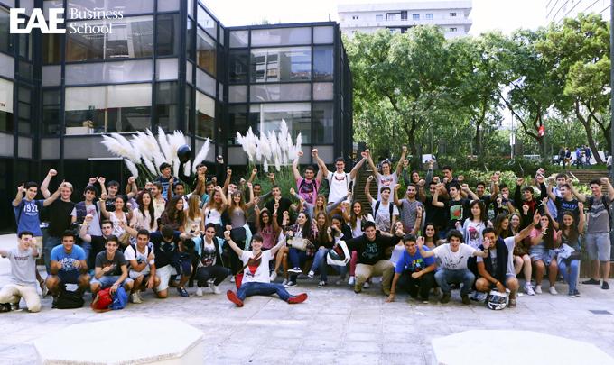 Nuevos alumnos Grado en ADE de EAE 2014