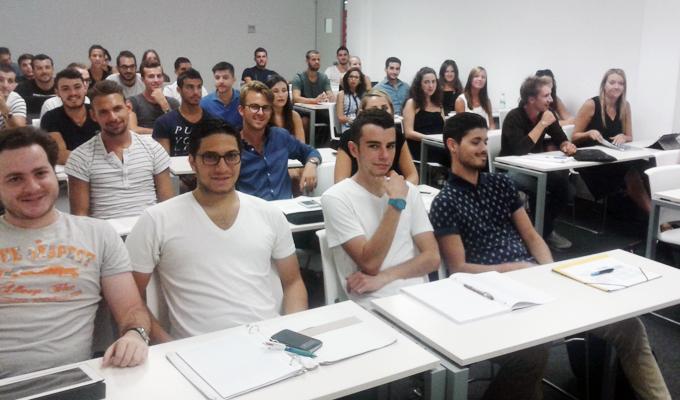 Nuevos alumnos Erasmus y Study Abroad EAE