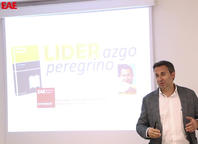 Conferencia de Oriol Segarra, CEO de Laboratorios Uriach, a los alumnos del Máster en Dirección de Recursos Humanos de EAE