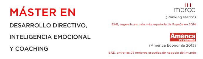 Máster en Desarrollo Directivo, Inteligencia Emocional y Coaching de EAE Business School