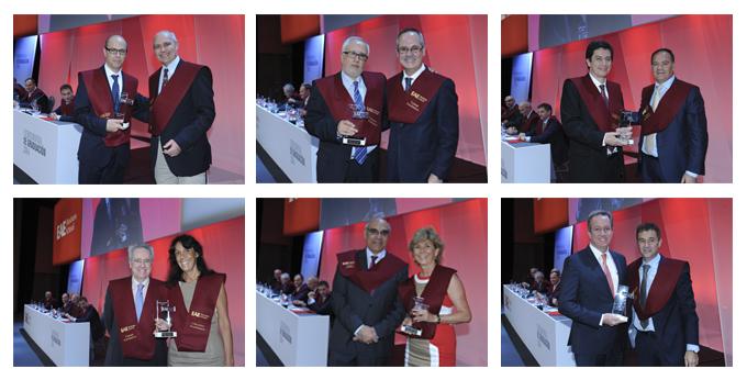Premio profesores Ceremonia de Graduación EAE Business School Barcelona 2014