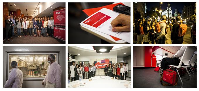 Semana de bienvenida alumnos GEMBA en EAE Madrid 1