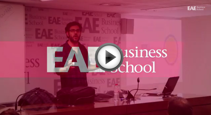 Programa Empleo Telefónica visita alumnos EAE Business School