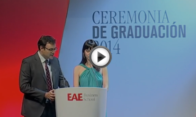 Video completo Ceremonia de Graduación EAE 2014 Barcelona