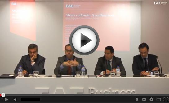 Video completo de la sesión Webinar EAE Mesa redondad con Headhunters