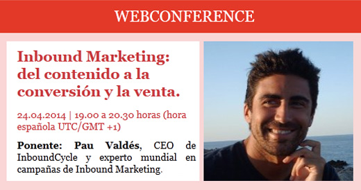 Webconference EAE Inbound Marketing