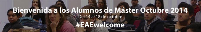 Welcome Week EAE Business School Octubre 2014
