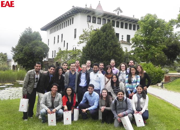 Cavas Codorníu Sant Sadurní d'Anoia, Alumnos de EAE Business School de visita
