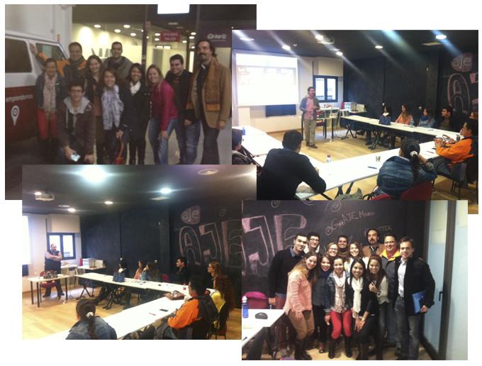 Visita alumnos EAE Máster Empresas de Comunicación a garAJE Madrid