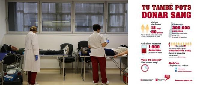donacion de sangre EAE barcelona Banc de Sang