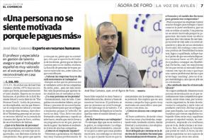 Entrevista José Díez Canseco sobre el Ágora de Foro