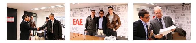 Ganadores Renta 4 alumnos Grado en ADE de EAE Business School