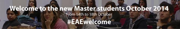 Welcome Week EAE Business School October 2014