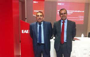 Marcos Sanz y Jose Diaz Canseco en EAE Webinar