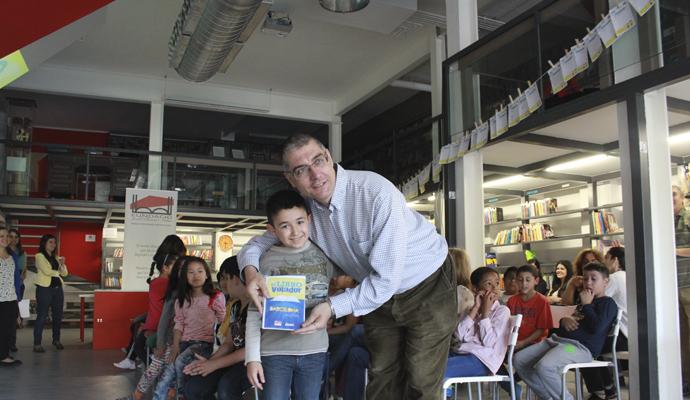 Miguel Angel Violan, profesor de EAE, en la iniciativa Barcelona Positiva