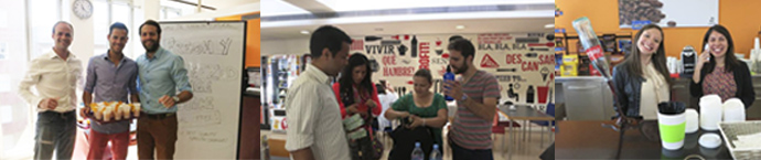 EAE students of International MBA in a special activity
