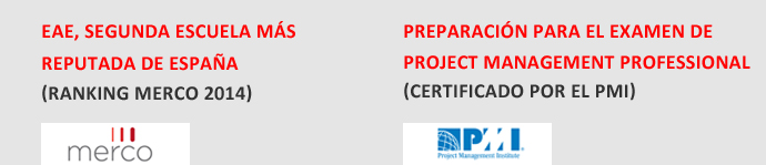 Master en Project Management de EAE Business School