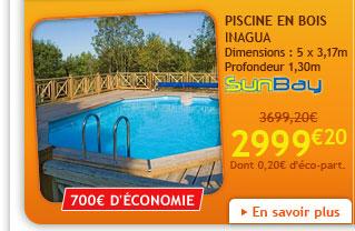 Abri de jardin motoculture portique piscine livr s chez vous promotion - Piscine en solde destockage ...