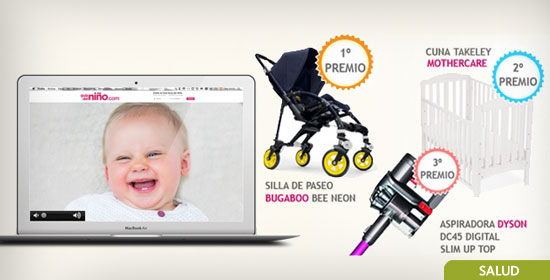 Gana una silla de paseo Bugaboo Bee Neon, una cuna Takeley Mothercare o una aspiradora Dyson DC45 Digital Slim Up Top