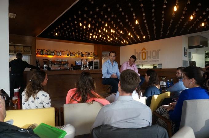 Afterwok EAE Business School con Borja Breña y Adrián Heredia