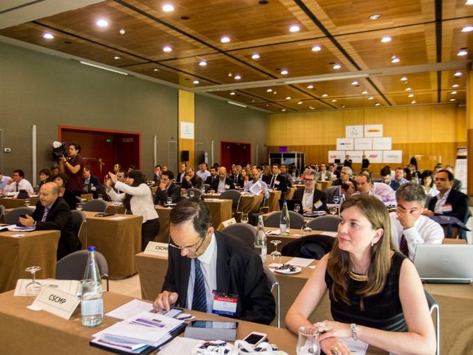Asistentes al Supply Chain Leadership Forum CSCMP