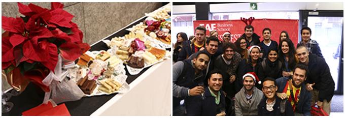 Brindis Navideño en EAE Business School Barcelona