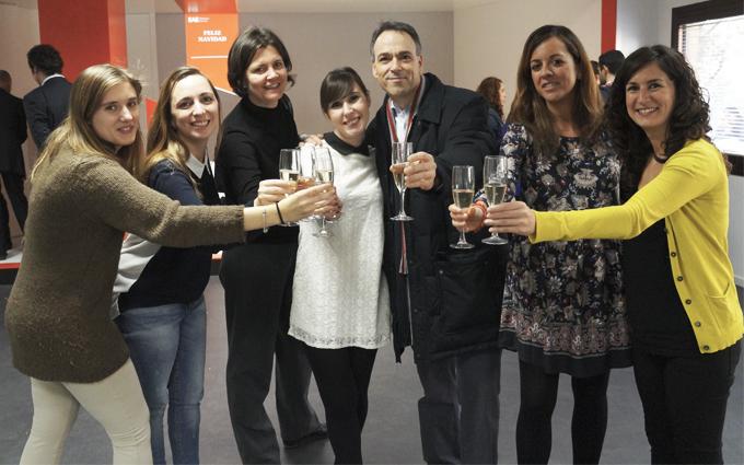 Brindis Navideño en EAE Business School Madrid