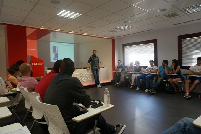 Café y CEO en EAE Madrid con Jaime Cacharrón