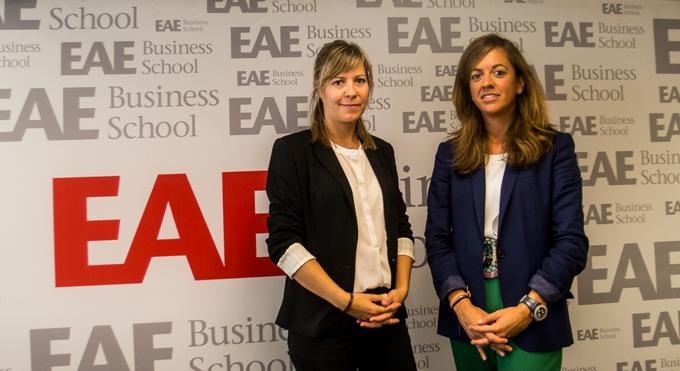 Carmen Martos y Lidia Bonvehi, Foro de Empleo 2015