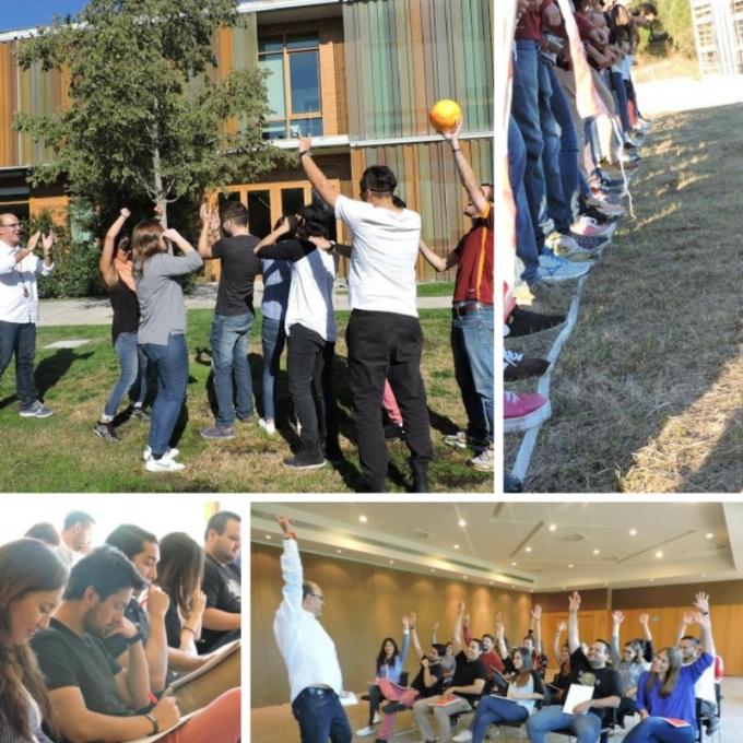 Outdoor training de los alumnos del Máster de Marketing y Gestión Comercial de EAE